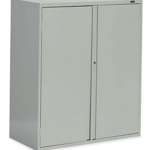 Storage Cabinet - Looped Full Pull - one fixed center shelf, one adjustable shelf
