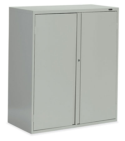 Storage Cabinet - Looped Full Pull - one fixed center shelf, one adjustable shelf Owen Sound Furniture