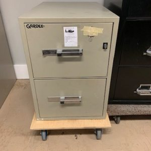 Gardex Fire Proof 2 Drawer Vertical Owen Sound Furniture