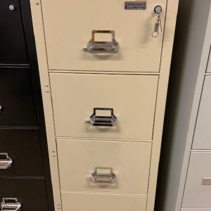 FireKing 4 Drawer Vertical