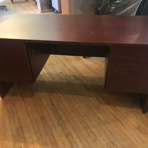 Double Pedestal Desk Owen Sound Furniture