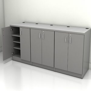 ST#3 - Light Grey / Stainless Owen Sound Furniture